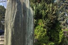 Sichtschutz aus Serpentinfelsen